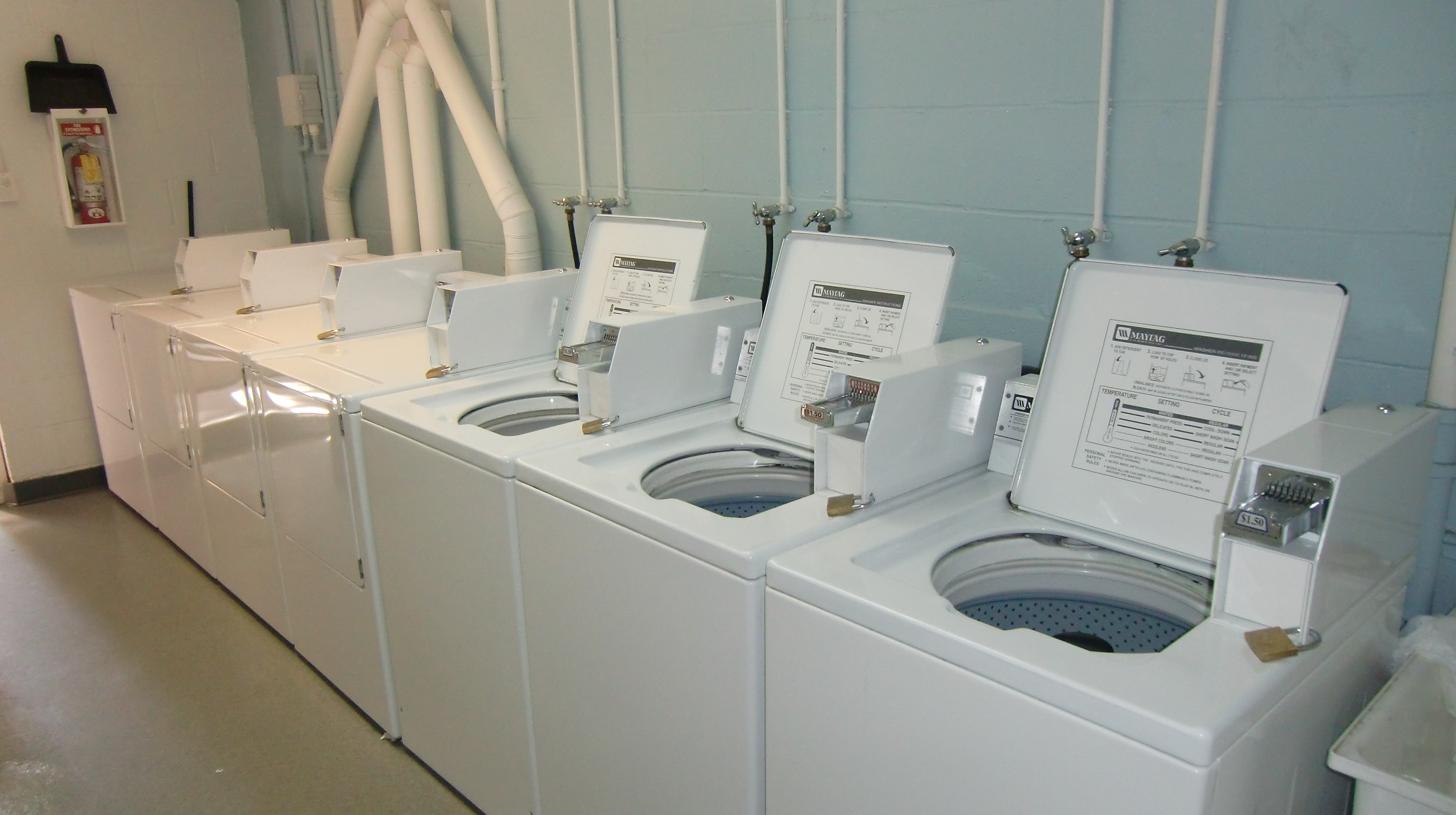 Your Choice for Corporate & Multi-Housing Laundry